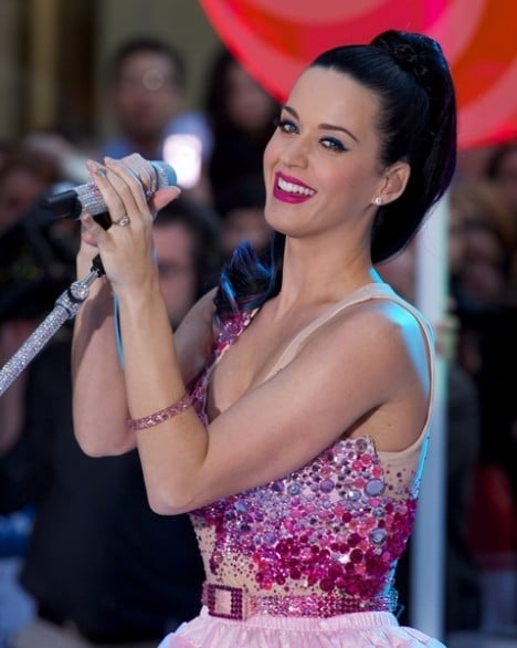 """Katy Perry in Concert on NBC's """"Today Show"""" - August 27, 2010 - Rockefeller Center"""
