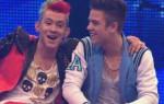 Luca und Daniele - Arm in Arm