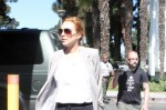 Lindsay Lohan Goes To The Santa Monica Courthouse For Probation Class - September 14, 2010