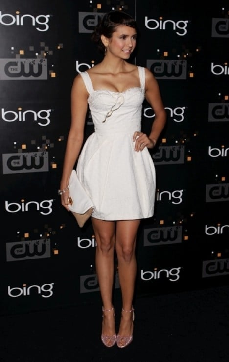 Nina Dobrev - Bing Presents The CW Premiere