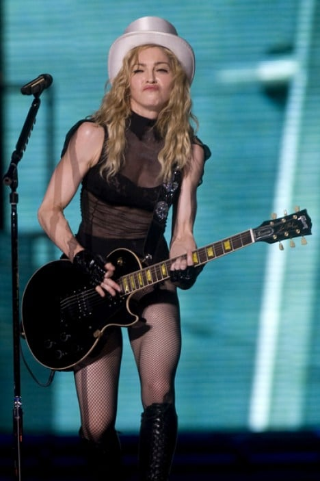 "Madonna in Concert ""Sticky & Sweet Tour"" at San Siro in Milan - July 14, 2009"