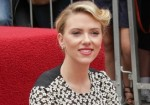 Scarlett Johansson Honored with a Star on the Hollywood Walk of Fame on May 2, 2012
