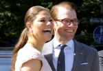 Crown Princess Victoria and Prince Daniel of Sweden Visit the International Library of Schloss Blutenburg in Munich on May 25, 2011