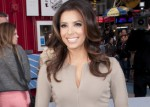 "Actress Eva Longoria Launches the Pepsi Next ""Drink it to Believe it"" Campaign in Times Square in New York City on April 6, 2012"