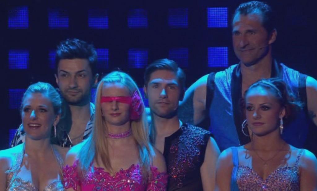 Zittern bei Lets Dance 2012