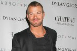 Kellan Lutz Celebrates Dylan George and Abbot + Main Fall 2012 Collections at Chateau Nightclub in Las Vegas on February 14, 2012