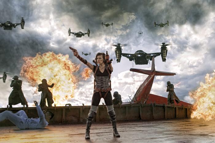Alice (Milla Jovovich) ist die letzte Hoffnung der Menschheit