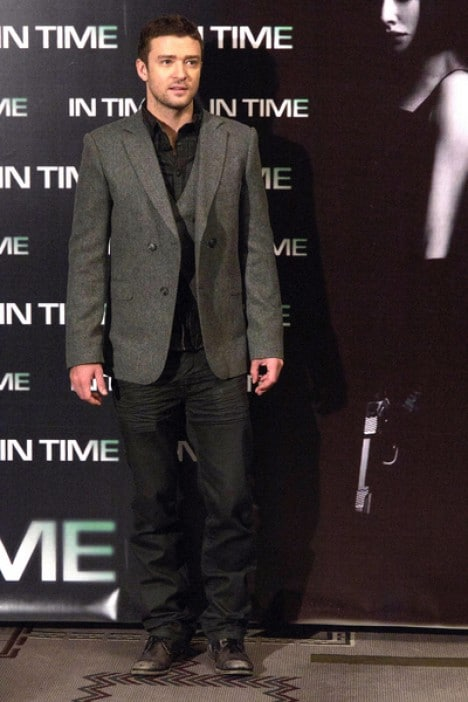 """Justin Timberlake - """"In Time"""" Madrid Photocall"""