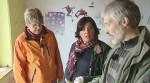 Vera Int-Veen (Mi.) mit Harald und Isolde