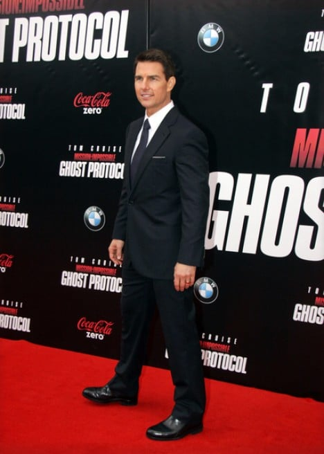 "Tom Cruise - ""Mission: Impossible - Ghost Protocol"" U.S. Premiere"