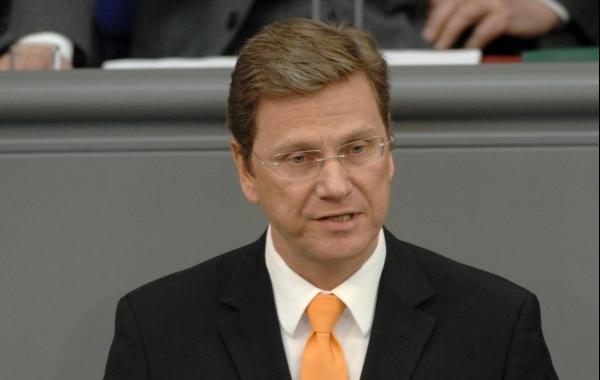 Guido Westerwelle, Deutscher Bundestag  / Lichtblick / Achim Melde,  Text: dts Nachrichtenagentur