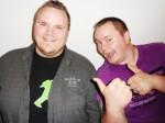 Die Brüder Kevin (27, l.) und Christian Mäckel (30)