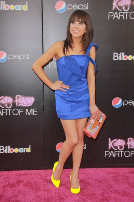 """Carly Rae Jepsen - """"Katy Perry: Part of Me"""" Los Angeles Premiere"""