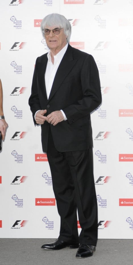 Bernie Ecclestone - 2010 F1 Party to Benefit the Great Ormand Street Hospital Children's Charity