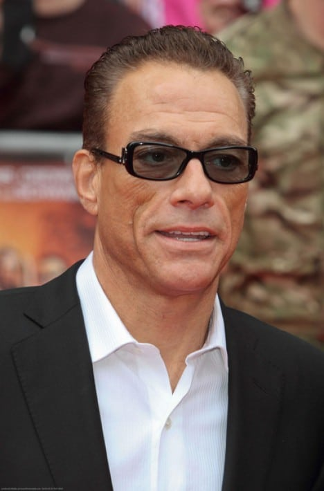 "Jean-Claude Van Damme - ""The Expendables 2"" UK Premiere"