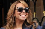 Mariah Carey at the Hotel Georges V in Paris on November 17, 2009