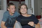 Vince (Vincent Krüger, li.) und Zac (Jascha Rust)