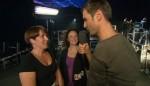 Jochen Schropp interviewt Nina (l., 35) und Petra (33)