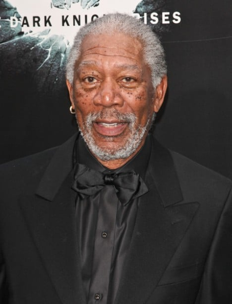 "Morgan Freeman - ""The Dark Knight Rises"" World Premiere"