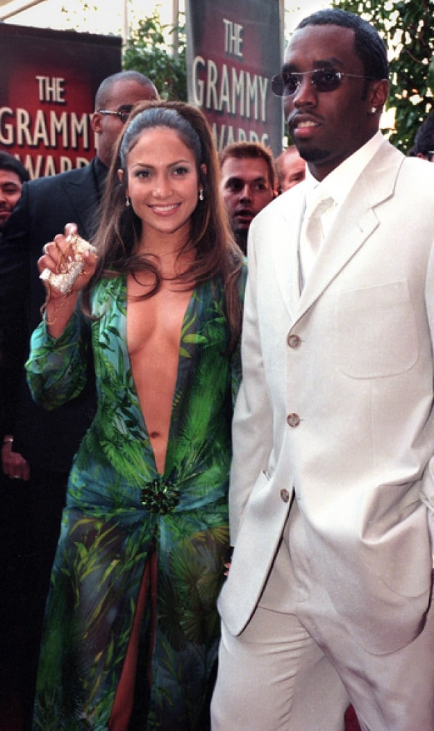 Jennifer Lopez and Sean Combs - The 42nd Annual GRAMMY Awards