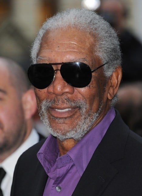 "Morgan Freeman - ""The Dark Knight Rises"" European Premiere"