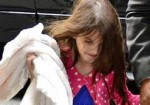 Suri Cruise - Katie Holmes and Suri Cruise Sighted Departing Joanne's Trattoria Restaurant in New York City on March 22, 2012