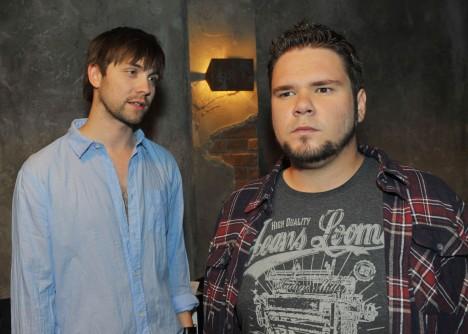 Tuner (Thomas Drechsel, re.) und Patrick (Björn Harras) bei GZSZ