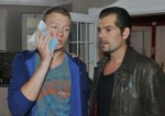 Vince (Vincent Krüger, li.) und Leon (Daniel Fehlow) bei GZSZ