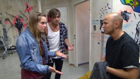 Hanna, Joshua, Krätze in Berlin Tag und Nacht