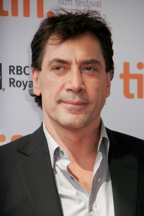 Javier Bardem - 2012 Toronto International Film Festival