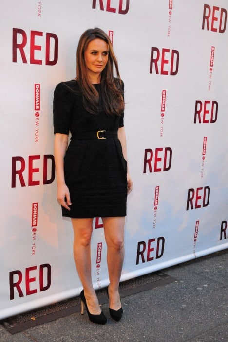 """Alicia Silverstone - """"RED"""" Broadway Show Opening Night"""