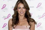 "Elizabeth Hurley ""Ready, Set, Pink!"" Event at Bloomingdales to Support Breast Cancer Research Fund"