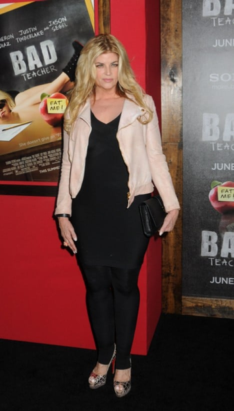 "Kirstie Alley - ""Bad Teacher"" World Premiere"