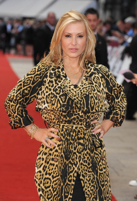 "Anastacia - ""Knight and Day"" UK Premiere"