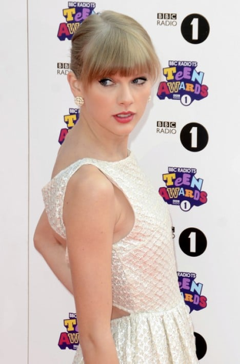 Taylor Swift - BBC Radio 1 Teen Awards 2012