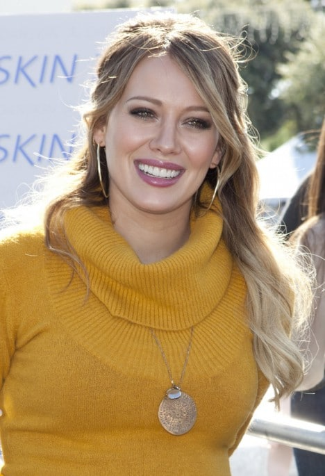 Hilary Duff and Danskin Skate for a Cause at ICE Skating Rink in Santa Monica