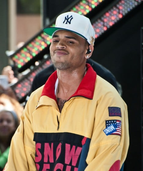 "Chris Brown - Chris Brown in Concert on NBC's ""Today Show"" at Rockefeller Center in New York City"