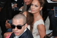 Patrick Demarchelier, Jennifer Lopez, her daughter Emme Maribel Muniz, her boyfriend Casper Smart