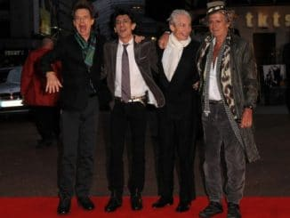 "The Rolling Stones - ""Shine a Light"" London Premiere"