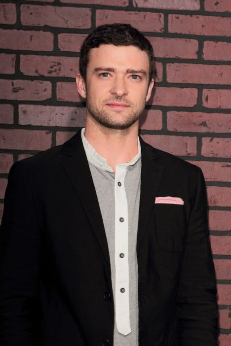 "Justin Timberlake - ""Trouble With The Curve"" Los Angeles Premiere"