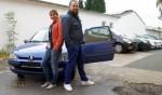 Vincenzo Pichierri und Panagiota Petridou bei Biete Rostlaube, suche Traumauto