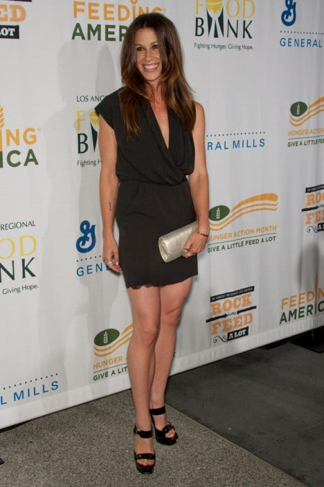 "Alanis Morissette - ""Rock A Little, Feed A Lot"" Benefit Concert"