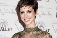 Anne Hathaway - 2012 New York City Ballet Fall Gala Honoring Valentino Garavani