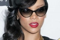 """Rihanna """"Unapologetic"""" Album Launch Arrivals and Q&A at Best Buy in New York City on November 21, 2012"""