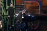 Robbie Williams und Markus Lanz bei Wetten dass
