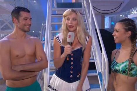 Nackt turmspringen tv total Stefanie Giesinger: