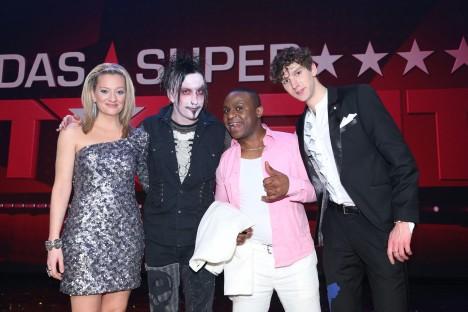 Juliette Schoppmann, Dan Sperry, Christian Bakotessa und Jean-Michel Aweh