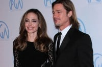 Angelina Jolie and Brad Pitt - 23rd Annual Producers Guild Awards
