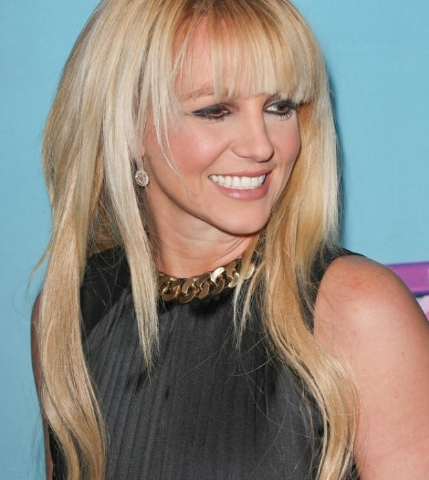 """Britney Spears - """"The X Factor"""" Season 2 Finale Press Conference"""