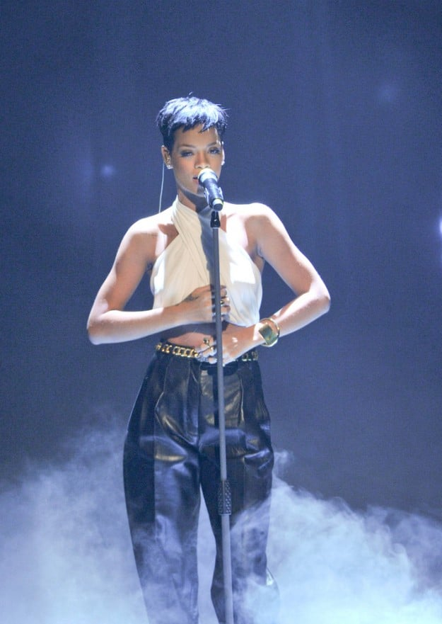 "Rihanna - ""Wetten, dass..?"" TV Series at the Rothaus Arena in Freiburg"